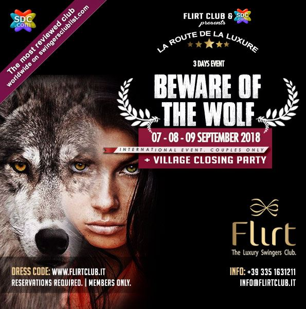 Beware of the wolf for Arredamento club prive