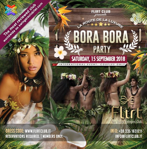 Bora bora for Arredamento club prive